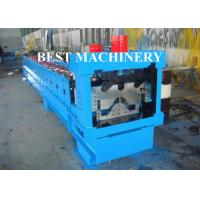 Quality Classic Glazed Roof Ridge Cap Roll Forming Machine Rain Gutter 5.5mx1mx1.4m Dimention for sale