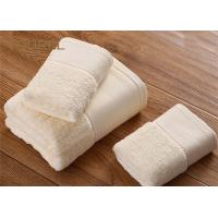 Quality 100% Cotton Hotel Microfiber Bath Towels Yellow Color Hotel Grade Towels for sale
