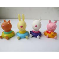 Baby Shower Gift  Animal Rubber Bath Toys Cute Animal Design For Infant / Toddler
