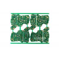 Quality High Frequency Fr4 Double Sided Rigid PCB Fabrication and Design Service 6 Layer for sale