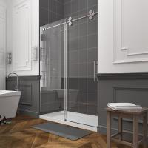 Buy cheap Prefab glass shower unit custom shower room frameless glass showers from wholesalers