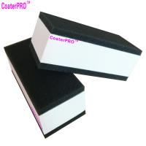 Buy ceramic glass Coating sponge nano glass coat applicator pad car polishing sponge auto detail sponge coating agent sponge at wholesale prices
