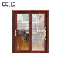 Quality Painting Grey Sliding Aluminum Window Door For Patio Variouse Designs for sale