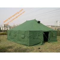 Buy cheap Outdoor Pole-style Galvanized Steel Waterproof Canvas Military Tent from wholesalers