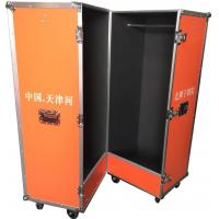 Quality Customized Bright Color Closet Case , Folding Aluminium Flight Case For Clothes for sale