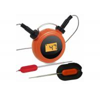 China Wireless Remote Digital Kitchen Thermometer Mobile Operated With Dual Probes on sale