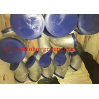 Quality TP304 / L TP316 / L TP321 TP347/ H Steel Pipe Fittings Long Neck Stub End Seamless for sale