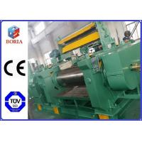 Quality PLC Controlled Customized Two Roll Mill Open Mixing Mill Rubber Mixing Mill for sale