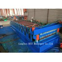 Quality Double Layer Sheet Metal Roofing Machine PLC Control 380V50HZ Frequency for sale