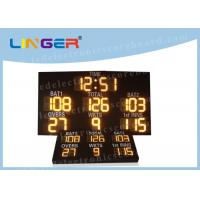 Quality IP65 Level Digital Cricket Scoreboard , Multi Sport Scoreboard 7 Segment Display for sale