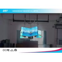 Quality Full Color Outdoor Flexible Led Display Matrix 48×24 With 140 Degree Viewing Angle for sale