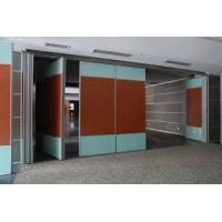 Quality Leather Folding Acoustic Room Divider / Movable Partition Wall for sale