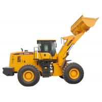 Quality Construction Machinery Stone Bucket Wheel Loader 655GWith 5000kg Rated Load for sale