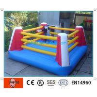 Quality Racing Inflatable Sports Games , Thai Boxing Ring For Inflatable Fighting Ring Boxing Games for sale