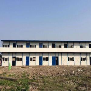 China Pre Built Prefab Steel Houses , Solid Fabricated Multi Storey Steel Buildings on sale