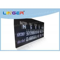 Quality Multi Purpose LED Baseball Scoreboard Remote Control With Time Function for sale