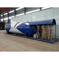 Quality Lpg Skid Station LPG Gas Storage Tank Completed Lpg Bottling Plant Equipments 40cbm With Scales for sale