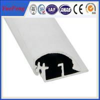 Quality Best prices aluminum poster clip extrusion profile for sale