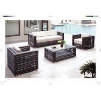 Quality hotel Leisure Rattan Sofa set garden sofa set for sale