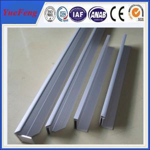 Quality 6063 aluminum frame for solar panel,6061 hard aluminum extrusion solar panel frame for sale