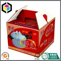Quality Gable Corrugated Packaging Box; Custom Color Print CMYK Portable Packaging Box for sale
