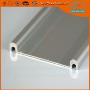 Quality 6063 Champage brush aluminum window profile, Matt aluminum window section, window profile for sale