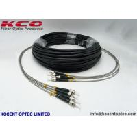 Quality Lc To Fc 4 Core Outdoor Fiber Optic Patch Cable RRU 0.2dB Army Field for sale