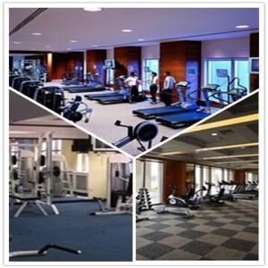 Quality Shenzhen GYM/Garage/Hospital/School Plastic PVC Interlocking Flooring Tiles for sale