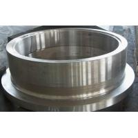 Quality ASTM A388  EN10228 Tower Drum Flange Forged Steel Roller For Metallurgical Equipment for sale