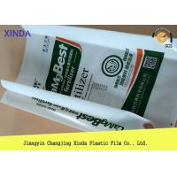Quality Form Fill Seal Heavy Duty Side Gusseted Plastic High Strength Anti-aging Bags for sale