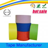 Quality Automotive paint crepe paper colored masking tape for sale