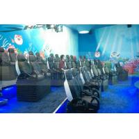 Quality 3d / 4d / 5d / 6d Cinema Motion Theater Chair Pneumatic / Hydraulic / Electronic for sale