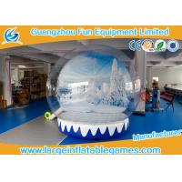 Quality 0.6mmPVC 3M Dia Inflatable Show Ball Inflatable Snow Globe For AD for sale