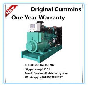 China Cummins AC three phase diesel generator set NTA855-G1B on sale