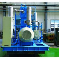 Quality Nitrogen booster compressor 2LY9.2/30-Ⅱ 3Z3.51.67/150, Vertical ,two row,two stage,casting steel, blue colour for sale