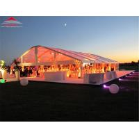 China Anti - Fungus Rainproof PVC Clear Span Tent Mainprofile 203*112*4mm on sale