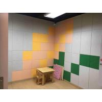 Quality Custom Reduce Noise Acoustic Polyester Acoustic Panels / Theater Polyester Fiber Board for sale