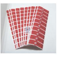 Quality Red Against Burglar Magnetic Security Labels With Anti - Magnet Impact for sale