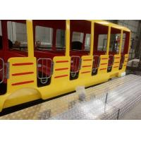 Quality 360 Degrees Rotation Kids Theme Park Rides , 24 Seats Crazy Bus Ride For All Ages for sale