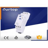 Quality 18mm Wide Multifunction Timer Relay , Staircase Light Time Switch Multi Voltage for sale