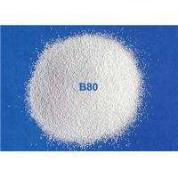 Quality Ceramic Blasting Media Zirconia Beads B80 For Metal Pipe Surface Cleaning for sale