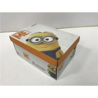 BGM09 Cardboard Shoe Boxes Golden / Silver Hot - Stamping Customized Logo