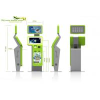 Quality Retail / Ordering / Payment Self service Waterproof Lobby Kiosk with Fingerprint Reader for sale