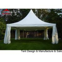 Buy cheap Luxury Gazebo Party Tent 6x6m With Strong Aluminum Frame / Pagoda Marquee from wholesalers