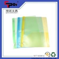 Quality Office & School Supplie Printed PP Stationery Transparent Easy File Folder for sale
