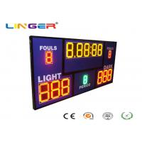 Buy Multi Sport LED Digital Basketball Scoreboard With Shot Clock Timer / Inside at wholesale prices
