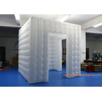Quality 2.5m RGB LED Light Inflatable Air Tent For Wedding Party / Inflatable Photo Booth for sale
