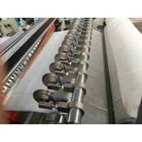 Semi automatic maxi roll paper and small bobbin paper slitting and rewinding
