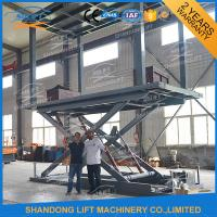 China Hydraulic Scissor Double Deck Car Parking System 2.5T Loading 3.3m Lifting Height on sale