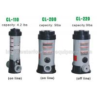 Quality Plastic Chlorine Feeder Automatic Pool Dosing Systems For Chemicals Grey Color for sale